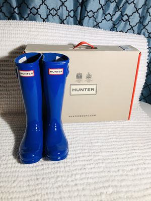 HUNTER BOOTS SIZE 1/2 children for Sale in Las Vegas, NV