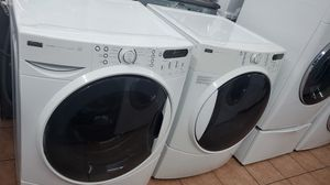 Kenmore washer and dryer white for Sale in Bellflower, CA