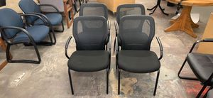 Black office chairs for Sale in Gaithersburg, MD
