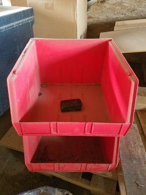 Akro bin stackable storage bins NEW IN BOX for Sale in Phoenix, AZ