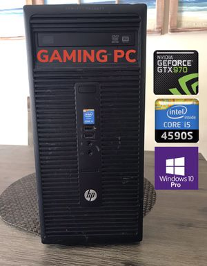 Gaming Desktop Computer PC (i5, NVIDIA, Windows 10) for Sale in Homestead, FL