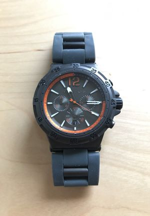 Michael Kors Gunmetal Melbourne Chronograph Mens Watch for Sale in Laveen Village, AZ