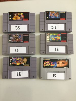 Super Nintendo Games for Sale in Grove City, OH