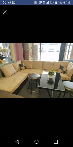 Free DELIVERY- Brand New Tan Sectional Sofa for Sale in Austin, TX