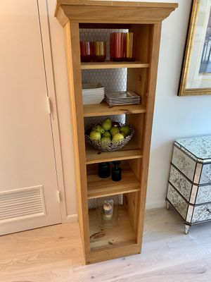 """Natural Pine wood shelving unit w chicken wire Pantry, Display 6'x19"""" for Sale in New York, NY"""