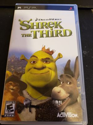 Shrek the third game for Sale in Kissimmee, FL