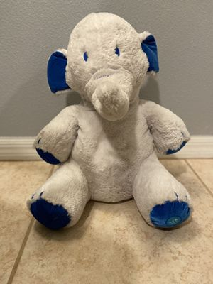 """Collectible: Winter Lumpy White Heffalump Elephant 18"""" Plush Stuffed Toy for Sale in Riverview, FL"""