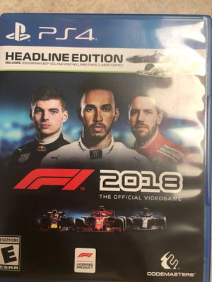 F1 2018 ps4 for Sale in Sanford, FL