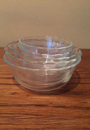 Pyrex 5 piece custard bowls for Sale in Kent, WA