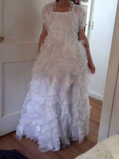 Size 12 kids wedding dress for Sale in Clinton, CT
