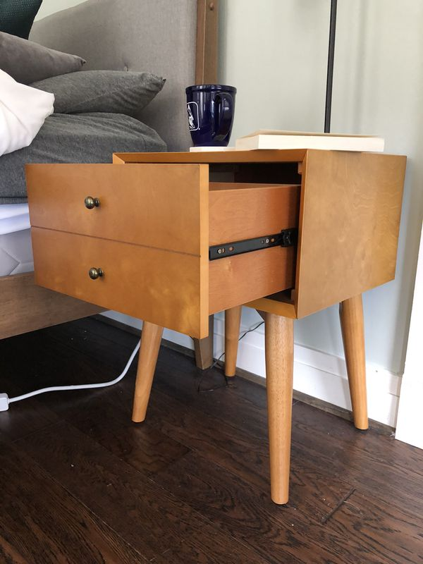 Mid-Century Modern End Tables/Nightstands
