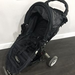 Baby Jogger City Mini Stroller with Graco Snugride adapters - $75 OBO for Sale in Upland, CA