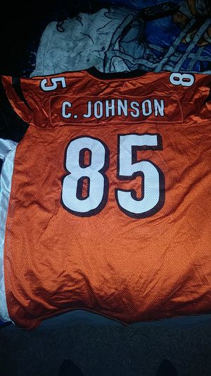C.johnson football jersey, for Sale in West Valley City, UT