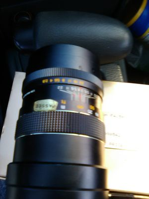 """HANIMAR AUTO """"S"""" F-135MM LENS for Sale in Fallbrook, CA"""