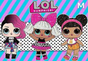 Lol dolls backdrop for Sale in Durham, NC