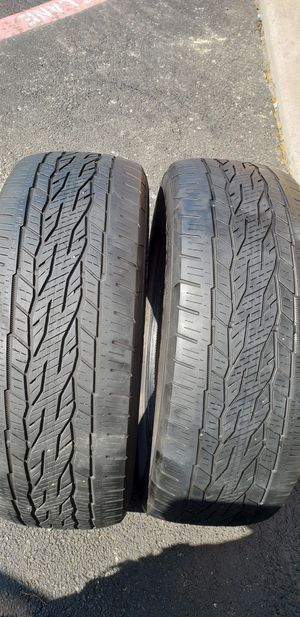 2 tires 275 55 20. for Sale in Dallas, TX