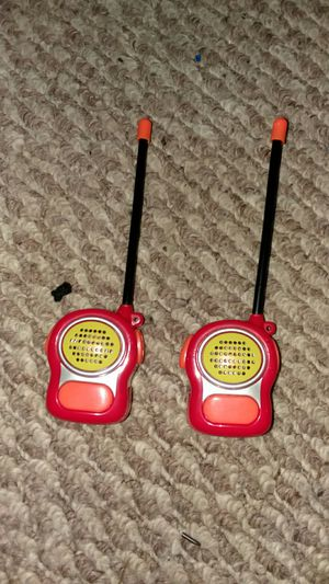 Mini walkie talkies for Sale in Germantown, MD