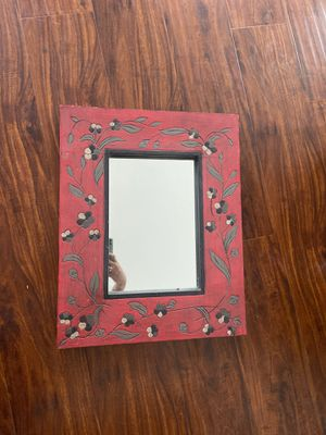 Medium Decorative wall mirror *teak wood * for Sale in LOS ANGELES, CA