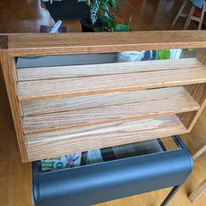 Solid Oak Mirror Shelf for Sale in Seattle, WA