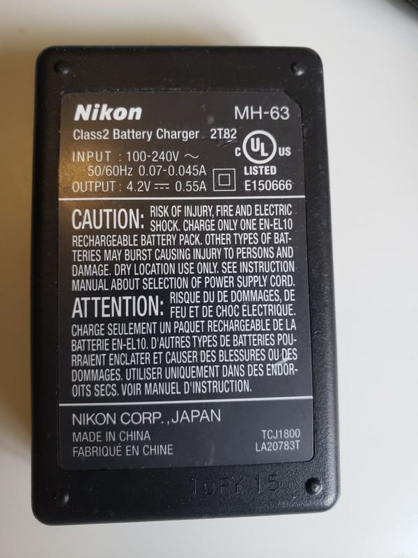 NIKON MH-63 Battery Charger .