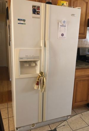 Like brand Whirlpool Gold Fridge for sale for Sale in Floral Park, NY