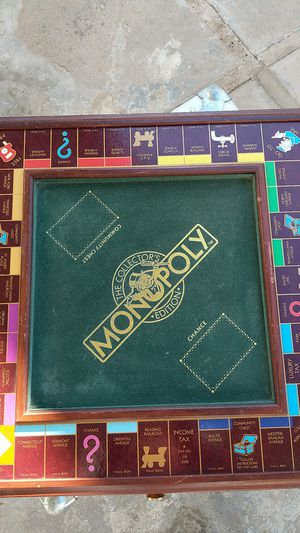 Franklin mint monopoly board game for Sale in Tempe, AZ