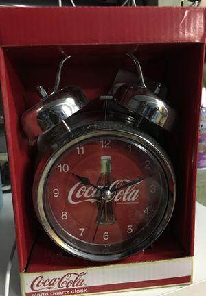 Old fashion Coca-Cola alarm clock for Sale in Buena Park, CA