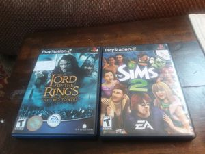 2 Ps2 games -great condition for Sale in Peoria, IL