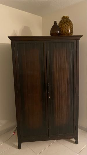 Pottery Barn Armoire TV Stand for Sale in Pembroke Pines, FL