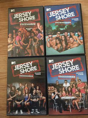 Jersey shore season 1-4 for Sale in De Soto, MO