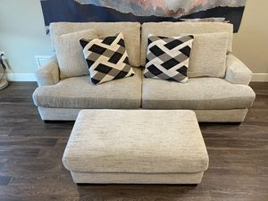 Comfy Sofa & Ottoman For Sale! for Sale in Salt Lake City, UT