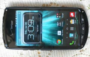 Like New Kyocera Brigadier Verizon/T-Mobile/MetroPCS/AT&T/Cricket/Straight Talk Phone Unlocked for Sale in Glendale, AZ