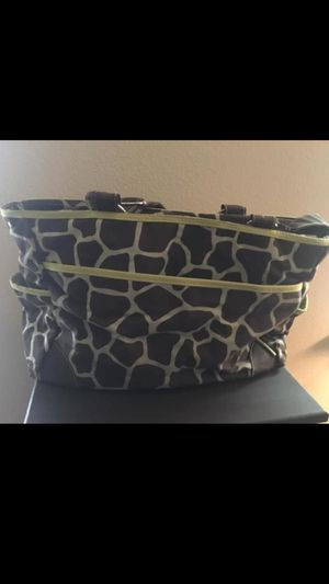 Giraffe print diaper bag for Sale in Vancouver, WA