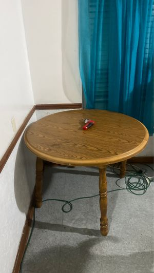 Wooden table and chairs for Sale in Columbus, OH