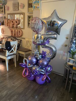 Party Balloon Bouquet for Sale in Los Angeles, CA