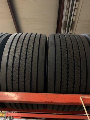 Hankook TL21 445/50/22.5 trailer super single tire for Sale in Tacoma, WA
