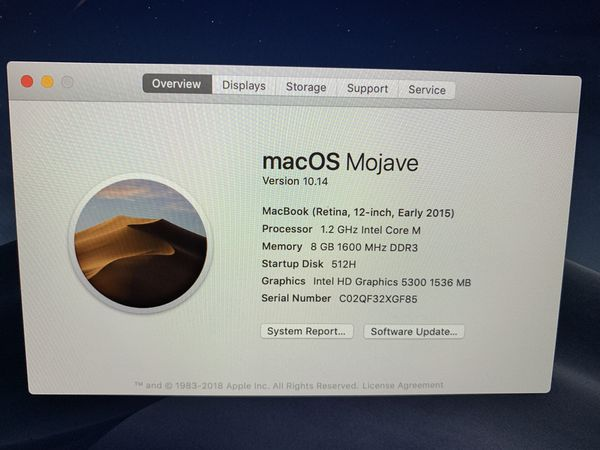 MacBook Gold (Early 2015)