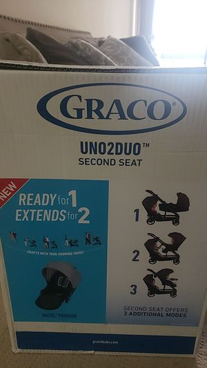 Graco uno2duo second seat for Sale in Montgomery Village, MD