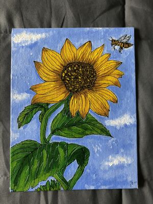 Sunflower Painting for Sale in Bolingbrook, IL