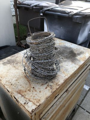 Barb Wire for Sale in Tracy, CA