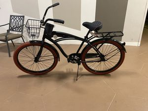 Huffy 26 Nel Lusso Men's Cruiser Bike, Matte Black for Sale in Lauderhill, FL