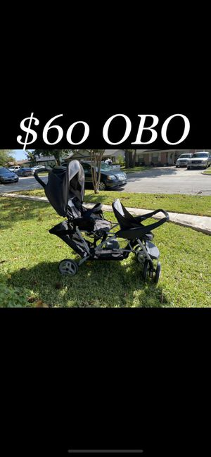 Double stroller & Toys for Sale in Dallas, TX