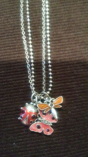 Avon double chain charm necklace for Sale in Salt Lake City, UT