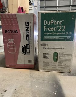 R22 & R410A freon for sale for Sale in Houston,  TX