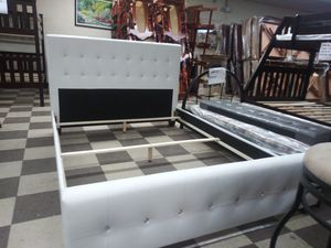 $275 Queen bed frame brand new free delivery same day for Sale in Miami Gardens, FL