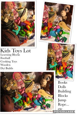 Kids Toys Lot - Learning blocks, football, jump rope, cooking toys, etc. for Sale in Rankin, PA