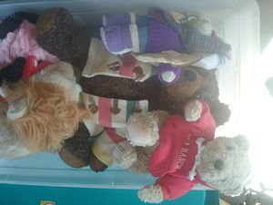 Bear collection and other stuffed animals, darling lot! for Sale in San Jose, CA