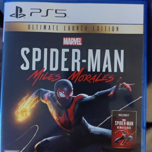 Spider-Man Miles Morales Playstation 5 for Sale in Seattle, WA