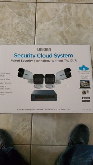 UNIDEN SECURITY CLOUD SYSTEM for Sale in Pembroke Pines, FL