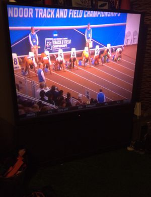 60 inch Hitachi TV - Works great! for Sale in Lawrenceville, GA